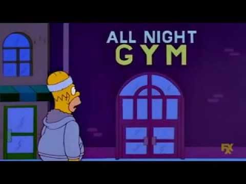 ¿Gym? ¿Que es un gym? - Frases Homero & Cia