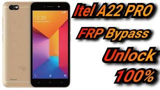 Itel A22 PRO FRP Bypass Unlock 100%