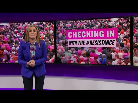 Checking in with the #Resistance | Full Frontal with Samantha Bee | TBS
