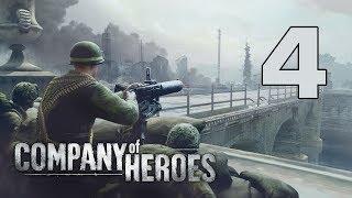 Прохождение Company of Heroes #4 - Контрнаступление на Карантан [Высадка в Нормандии][Эксперт]
