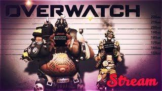 Overwatch - стрим С ДЕВУШКОЙ ►ДА ПРИБУДЕТ С НАМИ СИЛА