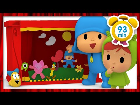 🎭 POCOYO in ENGLISH - Fun in the theater [93 minutes] | Full Episodes | VIDEOS and CARTOONS for KIDS