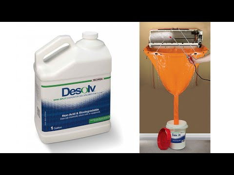 Desolv™ | Mini-split Evaporator Coil Cleaning Kit