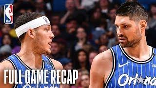 CAVALIERS vs MAGIC | Aaron Gordon & Nikola Vucevic Shine Against Cleveland | March 14, 2019