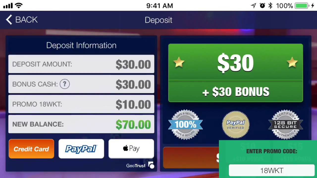 Real Money Pool get $10 bonus Promo code