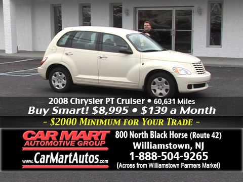 """Going on Now $2000 Minimum Trade"" Car Mart, Williamstown NJ"