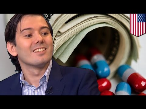 Martin Shkreli increases Daraprim price 5500%: Turing jacks AIDS drug up to $750 a pill