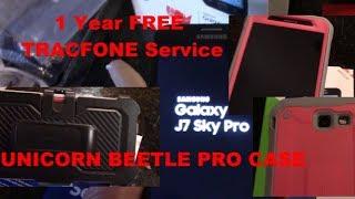 GALAXY J7 SKY PRO Tracfone BEST PREPAID PHONE