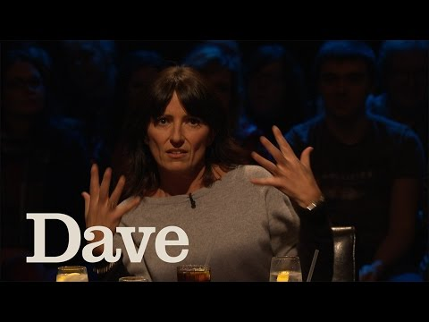 Davina McCall does a sexy dance on Alan Davies As Yet Untitled | Dave