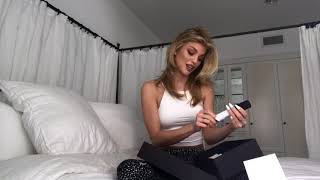 AnnaLynne McCord unboxing video