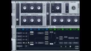 Native Instruments NI Massive видео урок туториал (часть 2)
