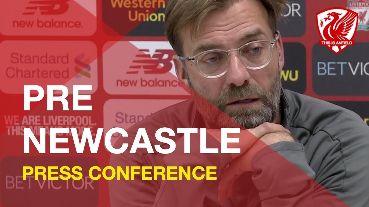 liverpool-vs-newcastle-jurgen-klopp-press-conference