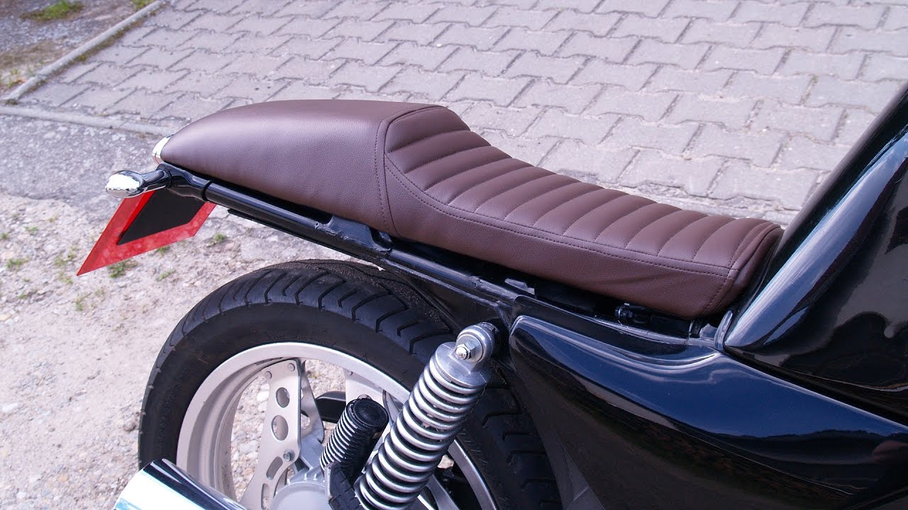 Výroba sedla Cafe Racer - How to make the seat Cafe Racer