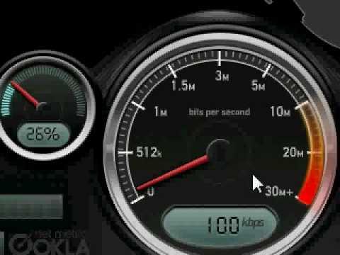 a900 samsung sprint SpeedTest