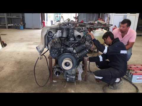 Mercedes-Benz V6 İnanılmaz saf Motor Sesi