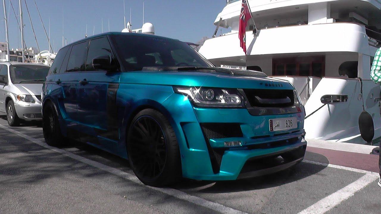 Arab Hamann Range Rover Mystre Start Ups