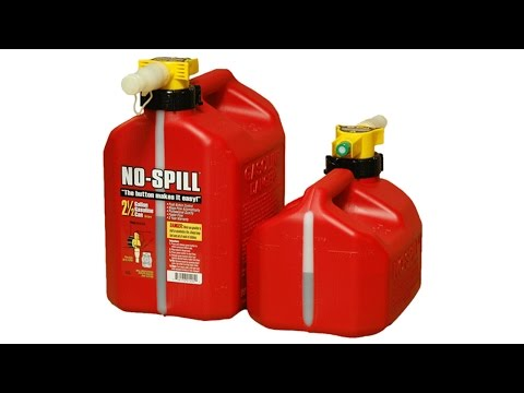 No-Spill® Gas Cans
