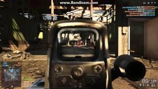 Battlefield 4 Machine gun M240b