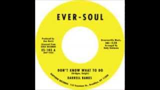 DARRELL BANKS -  Don't know what to do