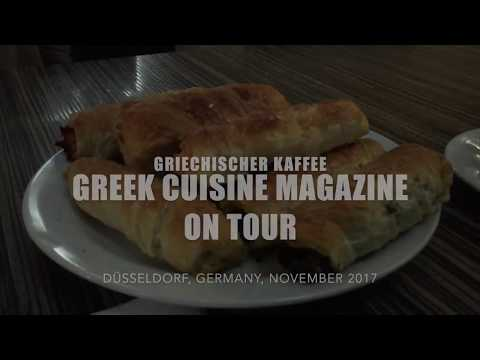 GREEK CUISINE MAGAZINE ON TOUR -  CAFÈ BYZANTIO IN DÜSSELDORF