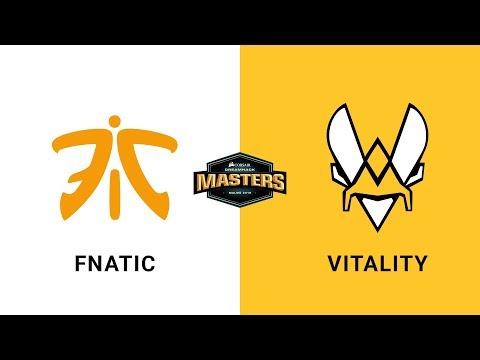 Fnatic Vs Vitality - Mirage - Grand Final - CORSAIR DreamHack Masters Malmö 2019