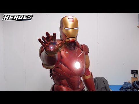 Real Life Iron Man Suit Cosplay