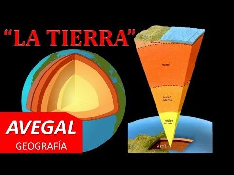 Estructura Interna de la Tierra - AVEGAL Geografía.