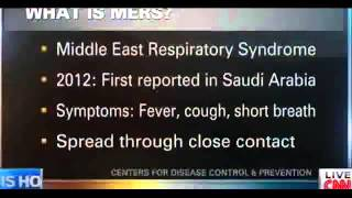 Should you be worried about MERS?  5/12/14  (Virus)