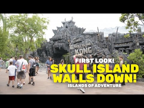 Skull Island: Reign Of Kong ride entrance revealed at Universal Orlando