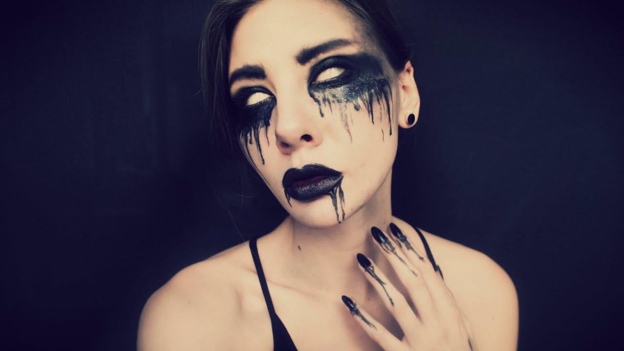 halloween makeup youtube. Black Bedroom Furniture Sets. Home Design Ideas