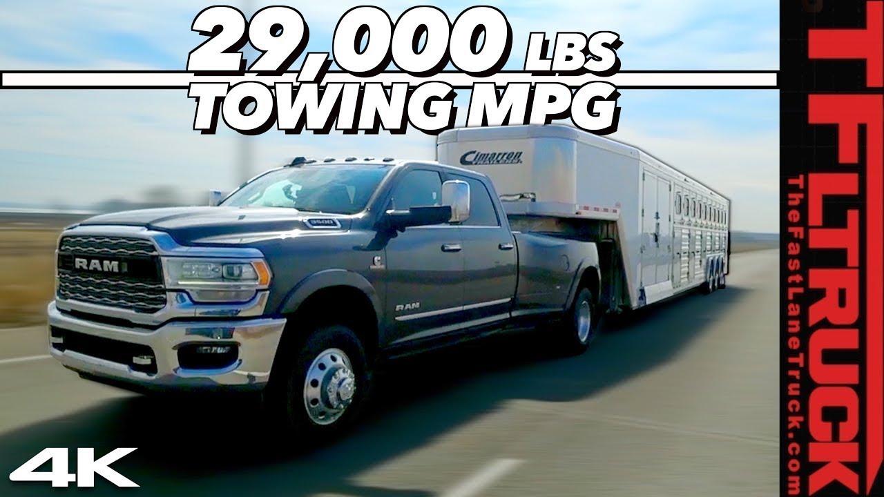 2019 & 2020 Heavy Duty Truck Towing Capability - Buyer's