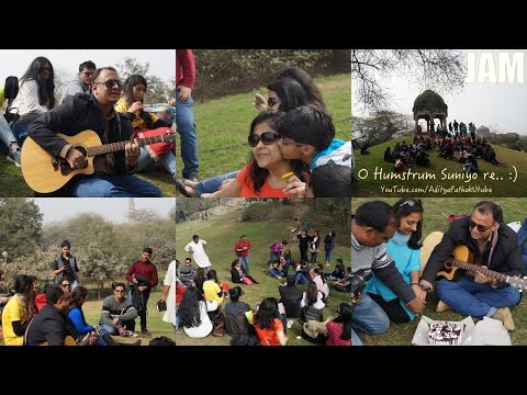 Jamming with Delhi Karavan - Mehrauli Archaeological Park :)