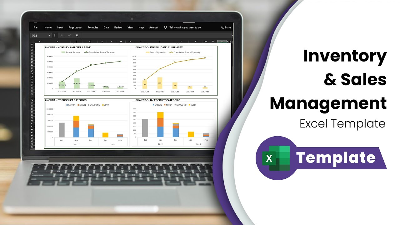 free inventory management software in excel inventory spreadsheet template youtube - Free Excel Spreadsheet Templates