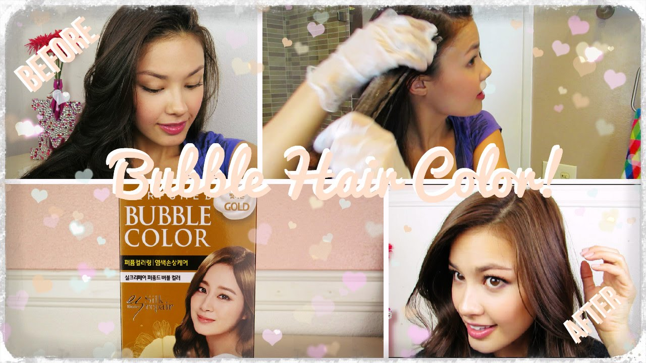 First Impressions Bubble Hair Dye And How I Color My Hair