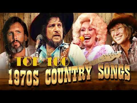 Best Classic Country Songs Of 1970s   Golden Old Music Hits Of 70s