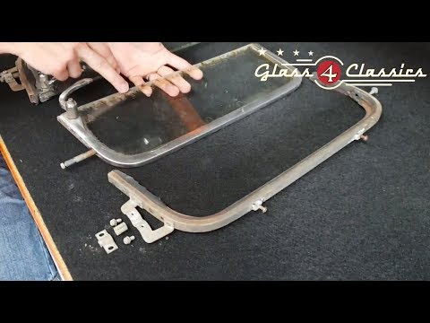 How To: Disassemble Vent Frames in the 57-60 Ford  F100