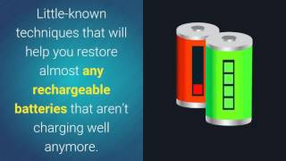 Dead Battery Repair - How to Recondition Batteries at Home - Dead Battery Repair