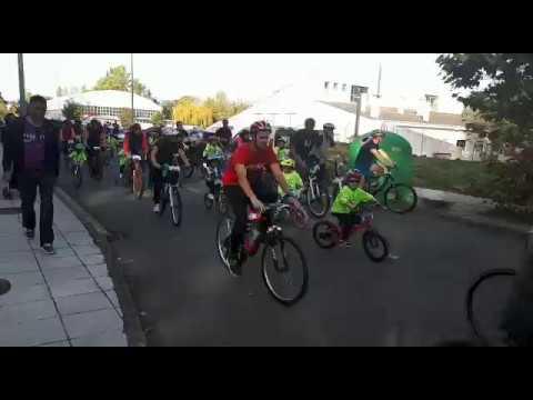 Unhas 400 persoas participan na ruta do Día da Bici de Sarria