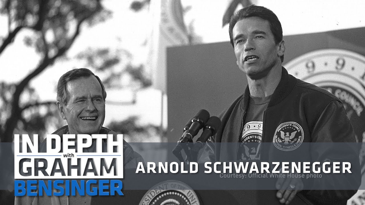Arnold Schwarzenegger Partying With President Bush Youtube