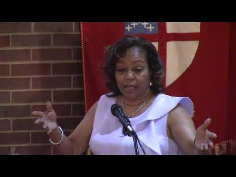 """""""The Wind Beneath My Wings"""" by Cherone Burnett, Women's Day Speaker, St  Thomas Episcopal 03 18 18"""