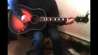 """Beatles rhythm guitar cover of """"Another Girl"""""""