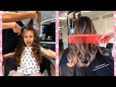 Viral Hairstyles Videos on Instagram | Best Hair Hacks Tutorial