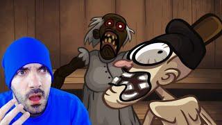 GRANNY me ATACA en Troll Face Quest Horror 3