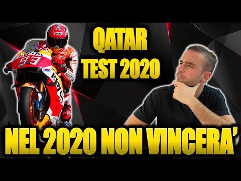 MARQUEZ NON VINCERÀ IL MONDIALE NEL 2020! - POST MOTO GP TEST QATAR 🇶🇦 2020