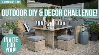 Invitation for YOU! 2018 Outdoor DIY & Decor Challenge Invite
