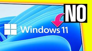 AÚN NO ACTUALICES A WINDOWS 11