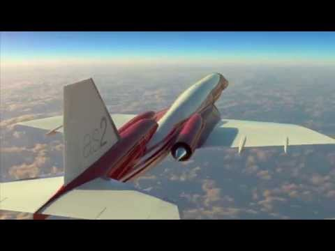 Aerion's AS2 Supersonic Business Jet gets extra engine and cabin space