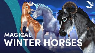 ✨ Meet the Magic Winter Horses! ✨