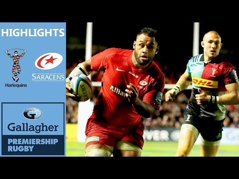 Harlequins v Saracens | Saracens Come From Behind In Fiery Clash | Gallagher Premiership