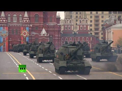 9 мая 1945 года, парад Победы на Красной площади в Москве